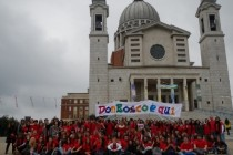 Flash mob al Colle don Bosco